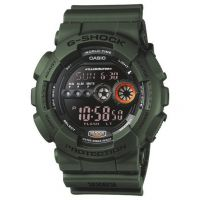 Casio G-Shock Herenchronograaf Groen GD-100MS-3ER