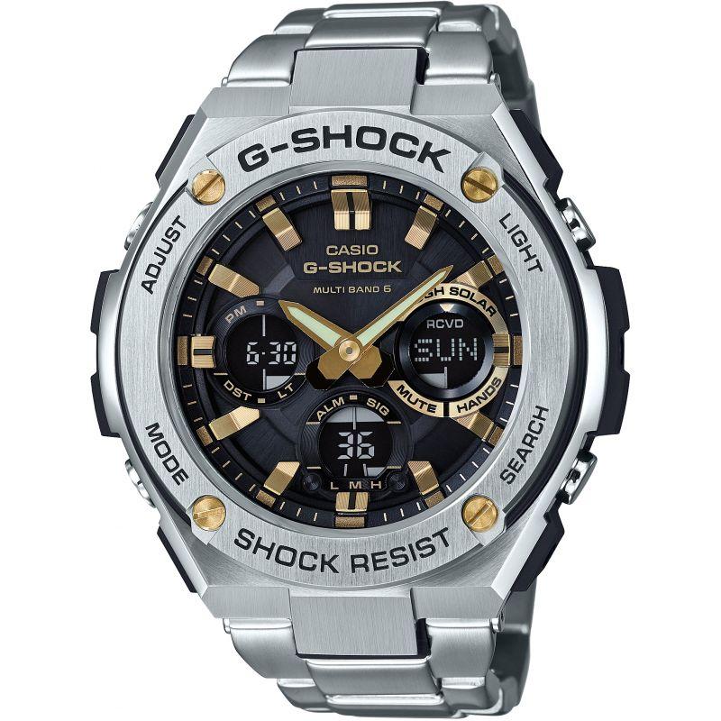 Mens Casio G-Steel Alarm Radio Controlled Watch