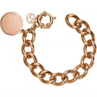 Mens Tommy Hilfiger Rose Gold Plated Bracelet 2700475