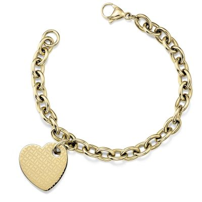 Tommy Hilfiger Jewellery Ladies Gold Plated Bracelet 2700707