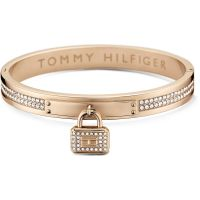 Ladies Tommy Hilfiger Rose Gold Plated Bangle 2700711