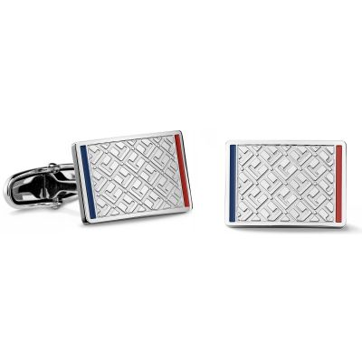 Mens Tommy Hilfiger Stainless Steel Cufflinks 2700696