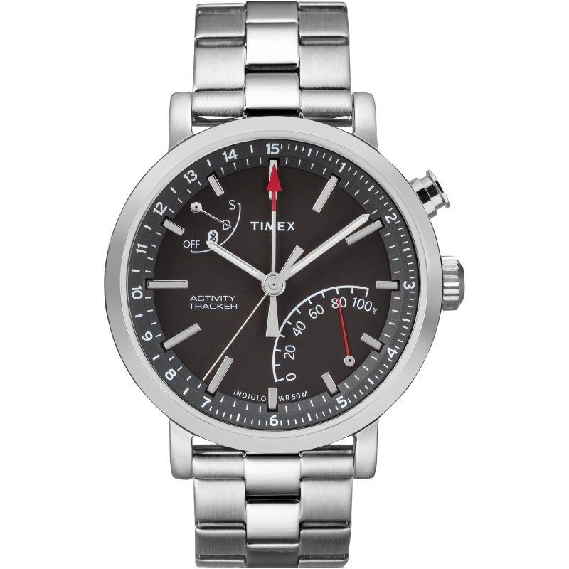 Mens Timex Metropolitan+ Activity Tracker Bluetooth Hybrid Smartwatch Watch