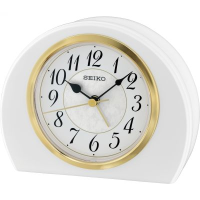 Seiko Clocks Mantel Alarm Clock QXE054W