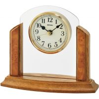 Seiko Clocks Wooden Mantel Clock QXG148B