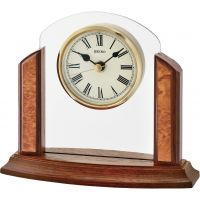 Seiko Clocks Wooden Mantel Clock QXG148Z