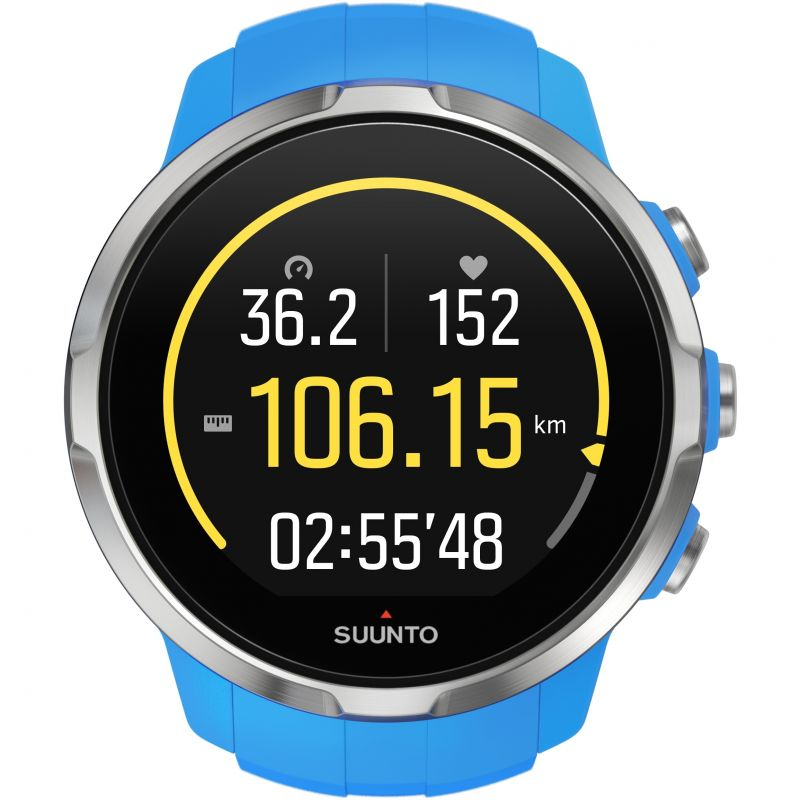 Unisex Suunto Spartan Sport Bluetooth Blue Alarm Chronograph Watch