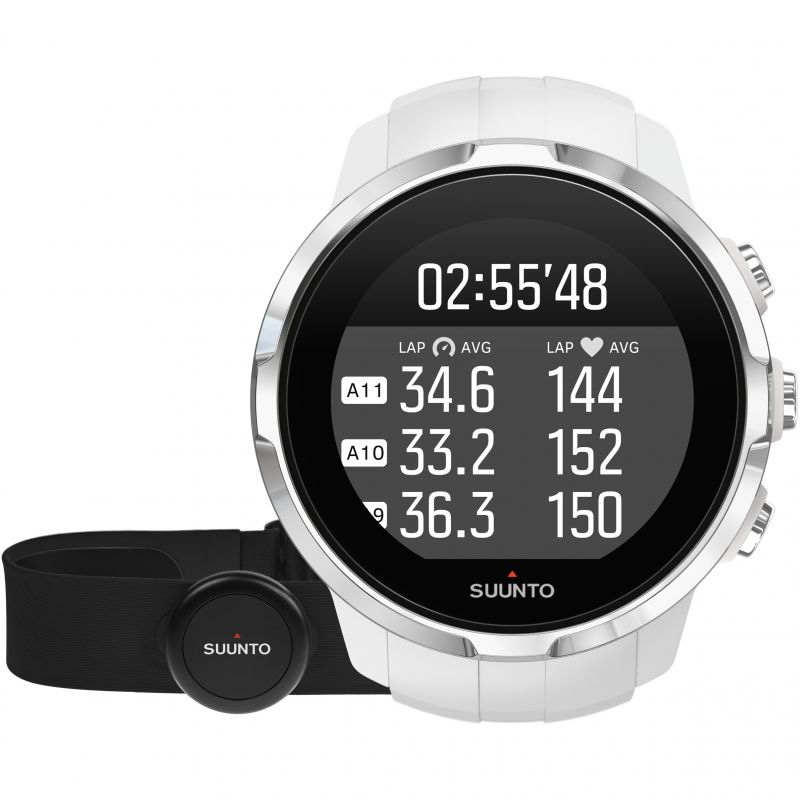 Unisex Suunto Spartan Sport Bluetooth White HR bundle Alarm Chronograph Watch