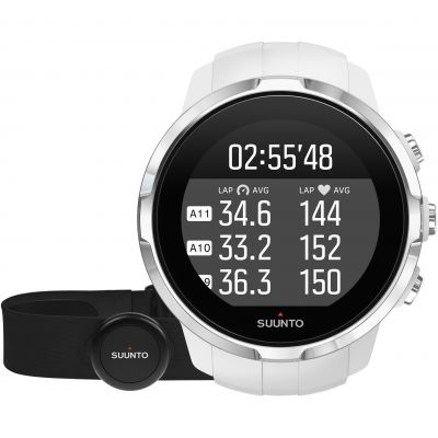 Montre Chronographe Unisexe Suunto Spartan Sport Bluetooth White HR bundle SS022650000
