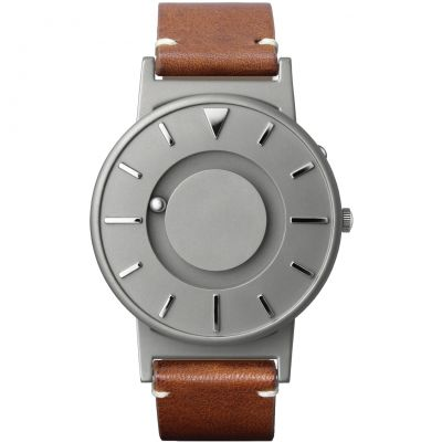 Eone The Bradley Classic Cognac Leather Strap Unisexuhr in Braun BR-BRWN
