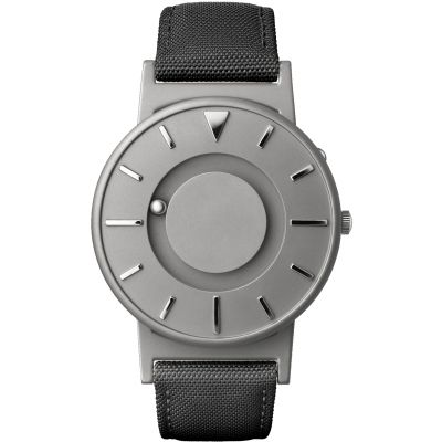 Unisex Eone The Bradley Canvas Black Strap Titanium Watch BR-C-BLACK