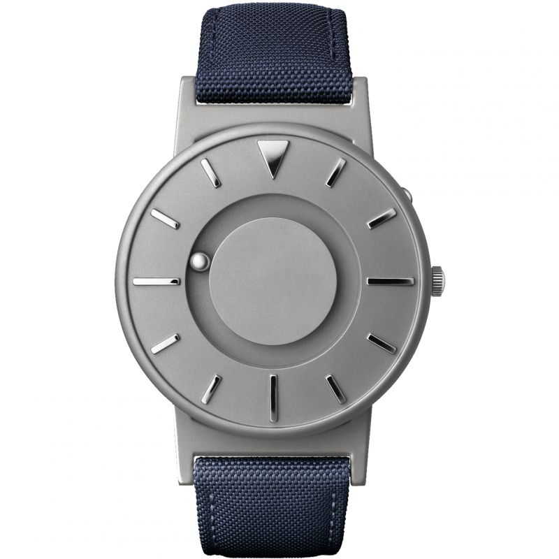 Unisex Eone The Bradley Canvas Blue Strap Titanium Watch