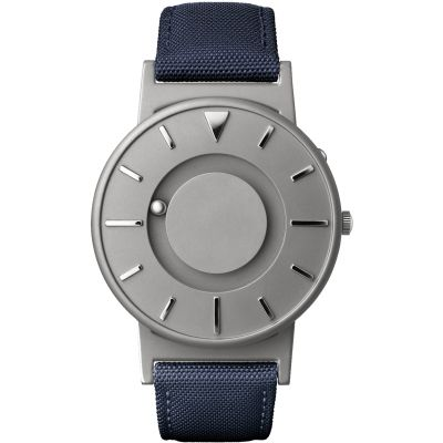 Eone The Bradley Canvas Blue Strap Unisexklocka Blå BR-C-BLUE