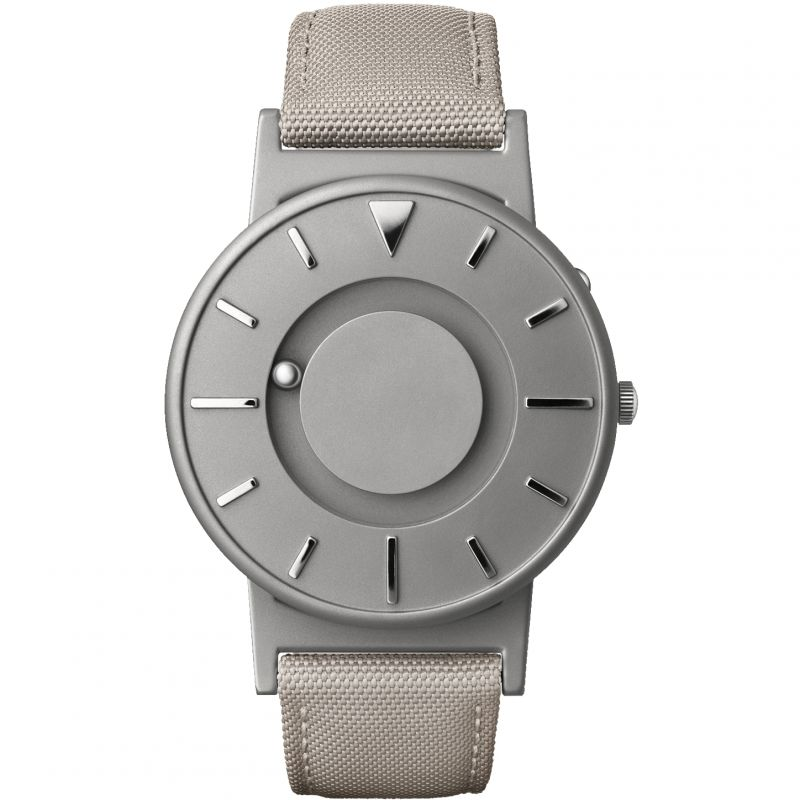Unisex Eone The Bradley Canvas Beige Strap Titanium Watch BR-C-BEIGE