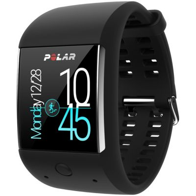 Polar Black M600 HR GPS Bluetooth Android Wear Unisexchronograph in Schwarz 90061185
