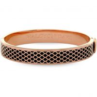 Ladies Halcyon Days Rose Gold Plated Salamander Bangle HBSAL0210RG
