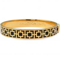 Ladies Halcyon Days Gold Plated Agama Bangle HBMOS0210G