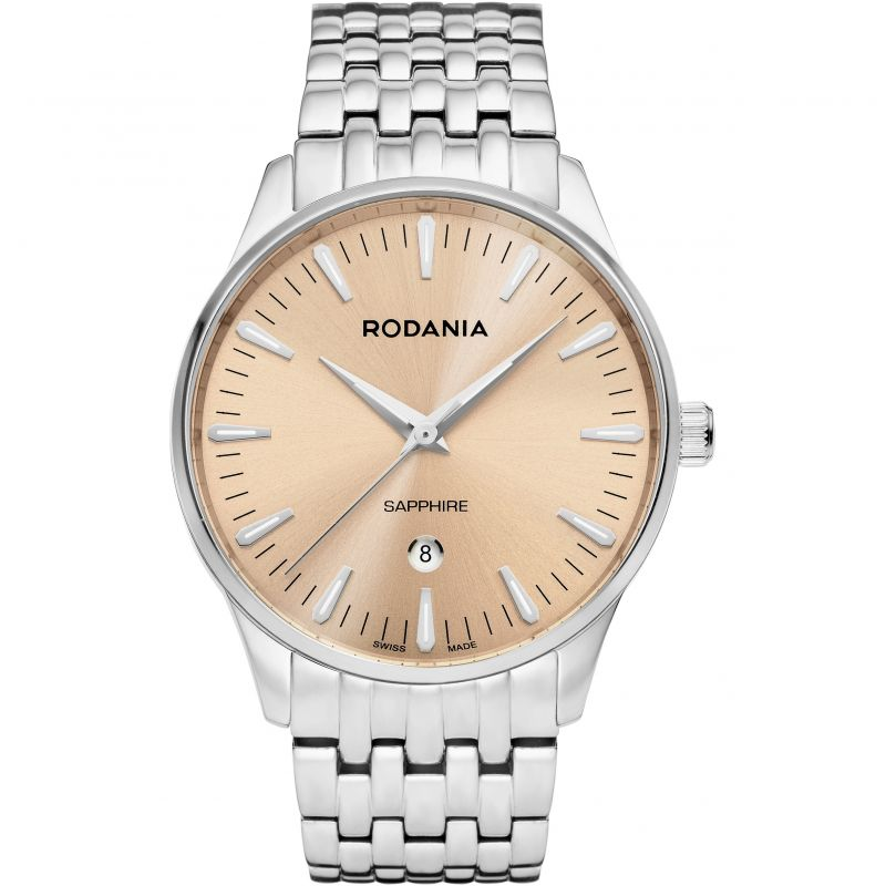 Mens Rodania Swiss Zermatt Gents Bracelet Watch