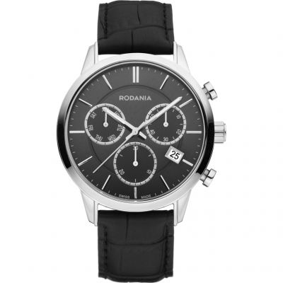 Mens Rodania Swiss Ontario Gents strap Chronograph Watch RS2511326