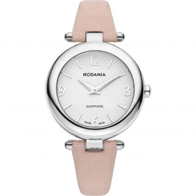 Rodania Swiss Moderna Ladies strap Dameshorloge Roze RS2512520