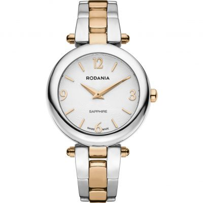 Rodania Swiss Moderna Ladies Bracelet Dameshorloge Tweetonig RS2512543
