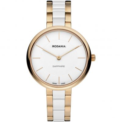 Rodania Swiss Firenze Ladies Bracelet Dameshorloge Tweetonig RS2511543