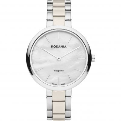 Rodania Swiss Firenze Ladies Bracelet Dameshorloge Tweetonig RS2511547