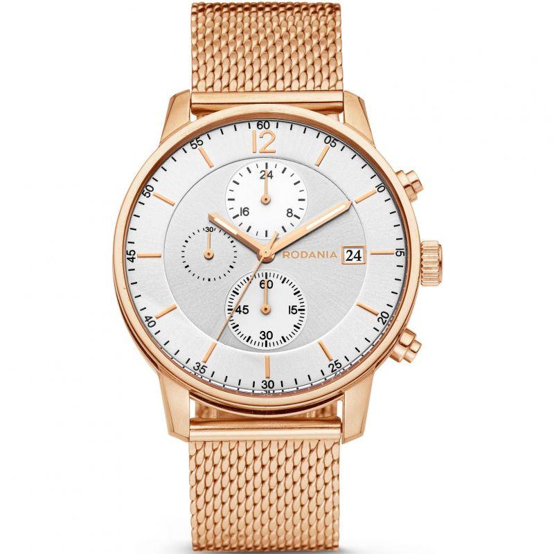 Mens Rodania Hugo Gents Bracelet Chronograph Watch