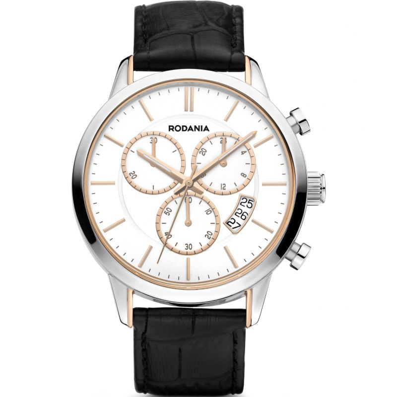 Mens Rodania Oxford Gents strap Chronograph Watch