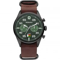 Mens Rodania Madagascar Gents strap Chronograph Watch RF2625728