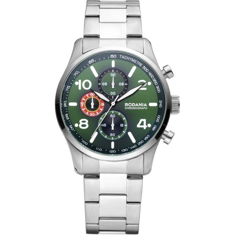 Mens Rodania Motola Gents Bracelet Chronograph Watch