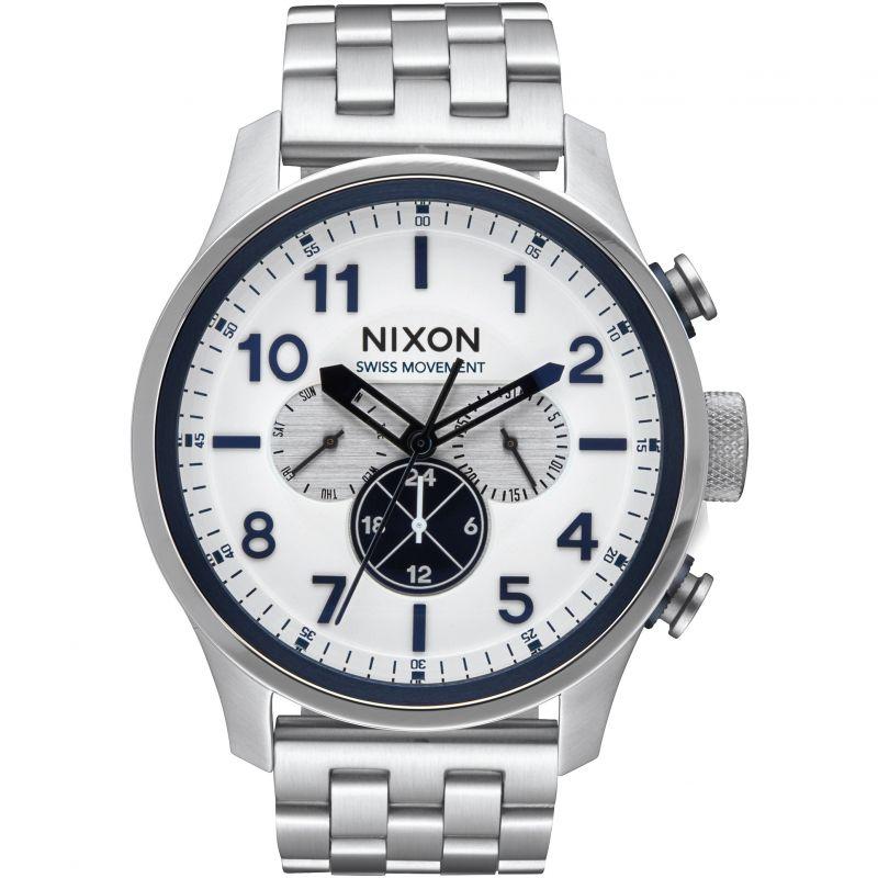 Mens Nixon The Safari Dual Time Watch