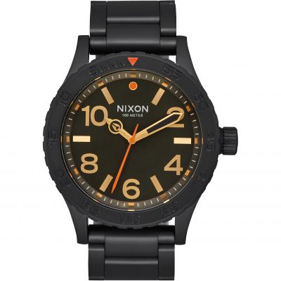 Nixon The 46 Herenhorloge Zwart A916-1032