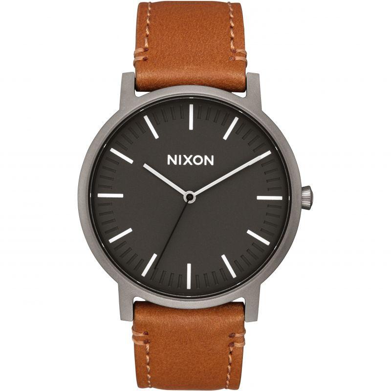 Unisex Nixon The Porter Leather Watch