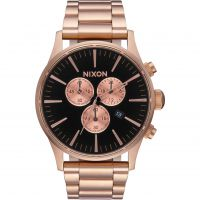 Mens Nixon The Sentry Chrono Chronograph Watch