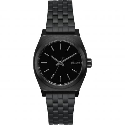 Nixon The Medium Time Teller Unisex horloge Zwart A1130-001
