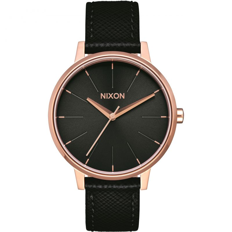 Unisex Nixon The Kensington Leather Watch