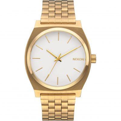Nixon The Time Teller Herrklocka Guld A045-508