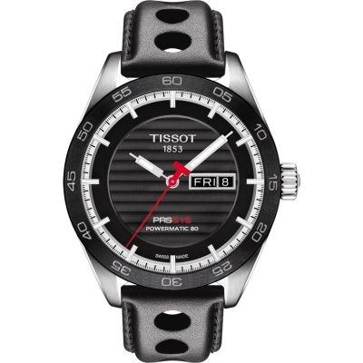 Tissot T-Sport PRS516 Powermatic 80 Herrenuhr in Schwarz T1004301605100