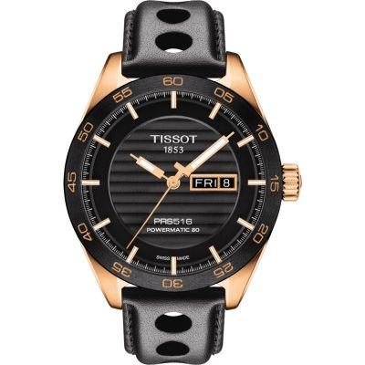 Tissot T-Sport PRS516 Powermatic 80 Herrenuhr in Schwarz T1004303605100