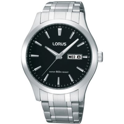 Mens Lorus Day-Date Watch RXN23DX9