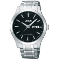 Mens Lorus Day-Date Watch