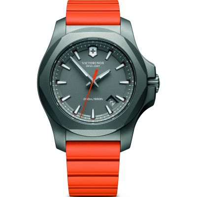 Victorinox Swiss Army INOX Herrklocka Orange 241758