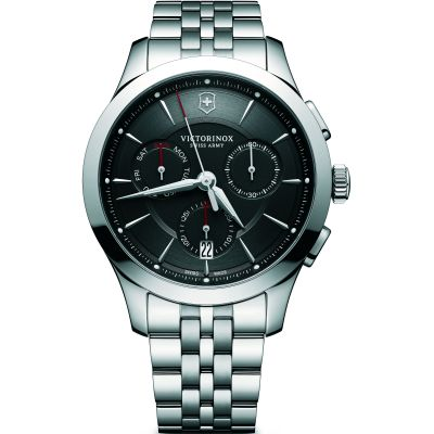 Victorinox Swiss Army Alliance Herenchronograaf Zilver 241745