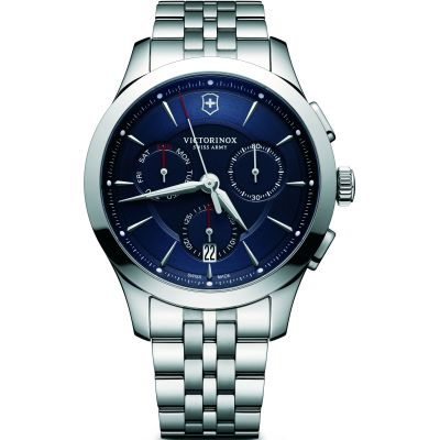 Victorinox Swiss Army Alliance Herenchronograaf Zilver 241746