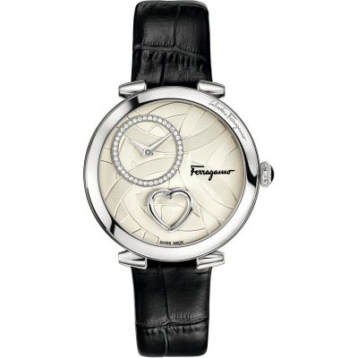 Ladies Salvatore Ferragamo Cuore Diamond Watch FE2020016