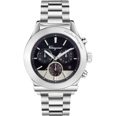 Mens Salvatore Ferragamo 1898 Chronograph Watch FFM080016