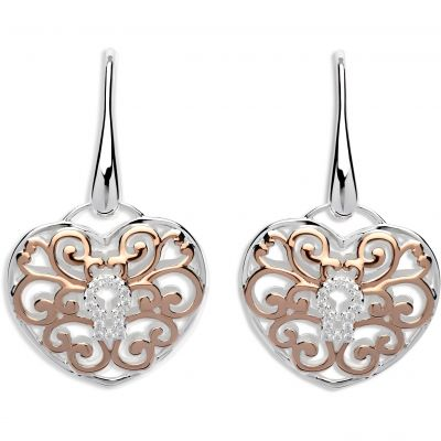 Ladies Unique & Co Sterling Silver Earrings ME-575