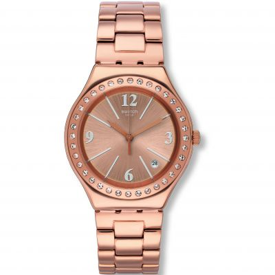 Swatch Irony Big Allurissime Unisexuhr in Rosa YGG409G