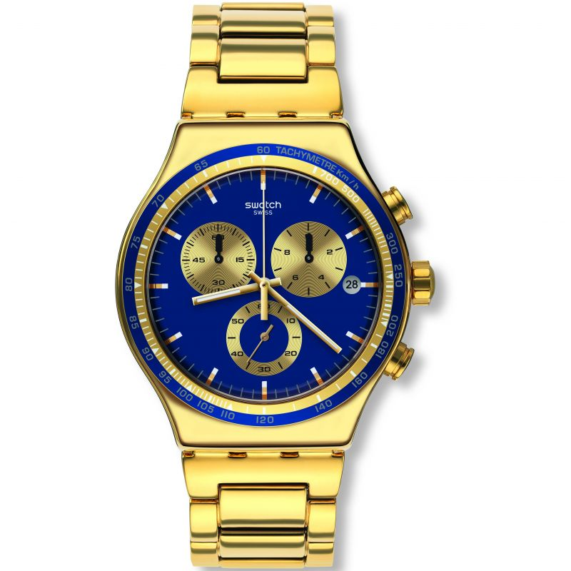 Unisex Swatch Power Shot Chronograph Watch